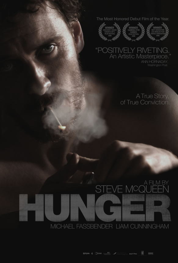 Hunger movie poster Steve McQueen